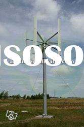 New vertical Axis low start wind speed wind turbines