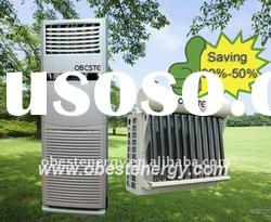 No Invertor Hybrid Floor Standing Solar Air Conditioner System