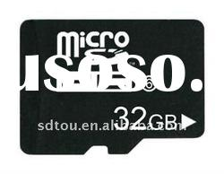OEM 32GB micro sd card high capacity for iphone4,China factory