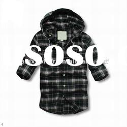 OEM Wholesale NEW 2012 men's shirt plaid mens long sleeve shirts Casual shirt