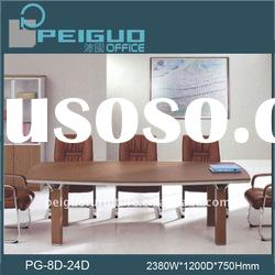 PG-8D-24D 2.4m classic modern meeting table design
