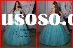 PYN2178 2012 Gorgeous Beaded Sweetheart Organza Ball Gown prom quinceanera dresses