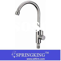 Popular Stainless Steel Sink Kitchen Faucet Mixer Tap Hi-Arch