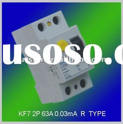 Residual Current Circuit Breaker Earth leakage circuit breaker RCCB ELCB RCD RCBO protection