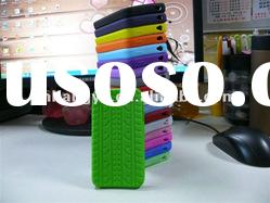 Tyre Tread Rubber Silicone Case Cover Skin For iPhone 4 4S