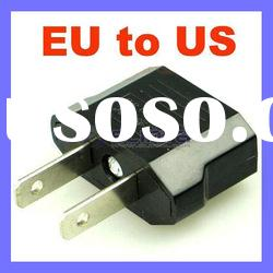 US to EU Converter US Male plug EU Female Jack Adapter