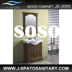 Wooden bathroom vanity furniture JS-2050