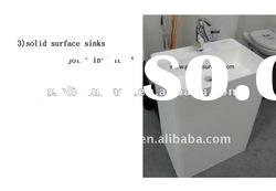 WorldStone acrylic solid surface vanity top