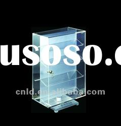 acrylic jewelry floor stand display