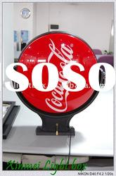advertising indoor/outdoor acrylic rotating light box