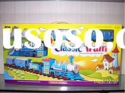 battery operated cartoon track train