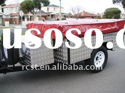 best selling 7x4ft off road camper trailer and soft floor travel trailer