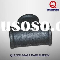 black malleable casting iron pipe fittings beaded elbow
