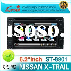 car dvd for NISSAN X-Trail with gps navi, digital tv optional