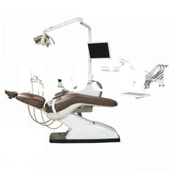 charming AJ18 dental chair unit hanging type with leather upholstery