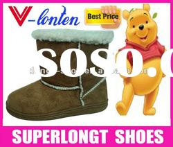 cheap furry winter boots for kids