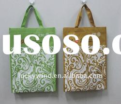 eco friendly beauty non woven shopping bag