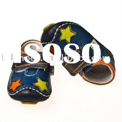 fashion baby leather shoes 2010 spring boy style LBL-BB27010BL