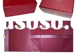 fashion foldable paper packaging box