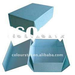 fast delivery foldable paper packaging box
