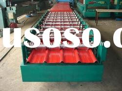 galvanized roof sheet roll forming machine