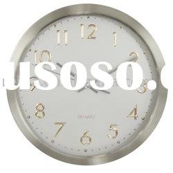metal wall clock/metal quartz clock/quartz wall clock
