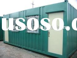 mobile light steel structure prefabricated house