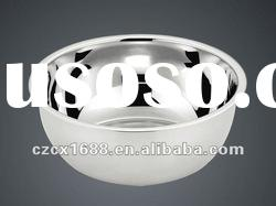 stainless steel cake mixing bowl