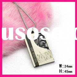 stainless steel fashionable love never dies letter pendant necklace jewelry for men