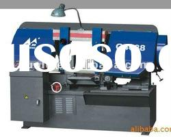 steel band saw cutting machine