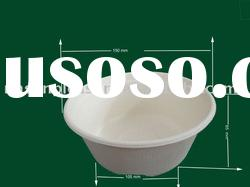 sugarcane biodegradable paper tableware soup bowl