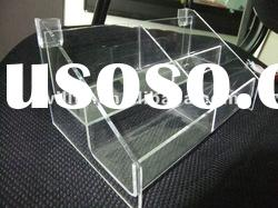 transparent Acrylic sunglasses counter top display
