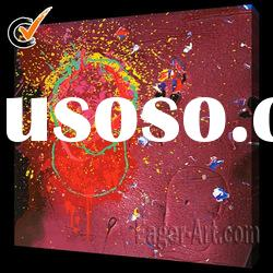 100% Handmade abstract art oil paintings (Buy Directly)