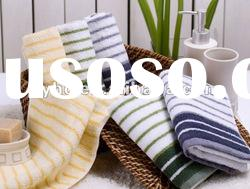 100 % cotton yarn dyed bath towel set