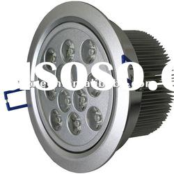 12W LED Down Light /12w LED Ceiling Light/Aluminum/Manufacturer/CE & RoHS