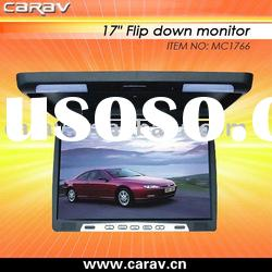 "17"" Car Flipdown Monitor with IR/Car Monitor/Roofmount Monitor"