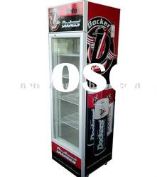 190L Cold Food Glass Showcase, Fruit Refrigerator