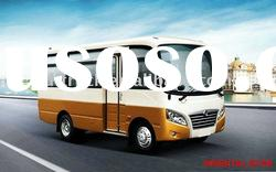 19 seats minibus 5.5m No AC Dongfeng EQ6550HD3G Coach Bus for sale