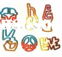 2011 hot!!! smart shaped silicone rubber band