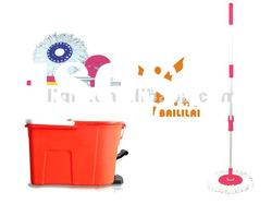 how to change mr clean roller mop head
