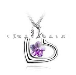 2012 fashion crystal pendant necklaces jewelry