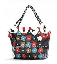 2012 newest fashion top quality tote bag latest designer PU ladies bags handbags