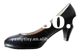 2012 spring new design lady leather work shoes