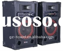 2.0 active loudspeaker audio box amplifier