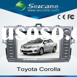 2 din 7 inch car dvd player for Toyota Corolla