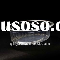 400ml Plastic oval food container,food packaging