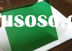 4mm---8mmDark green float glass