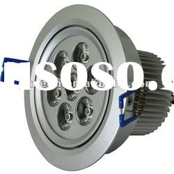7W LED Down Light /7w LED Ceiling Light/Aluminum/Manufacturer/CE & RoHS