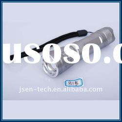 8115 Cree Q3 led Aluminum rechargeable ZOOM torch