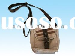 Advertising canvas shoulder bag with fashion style